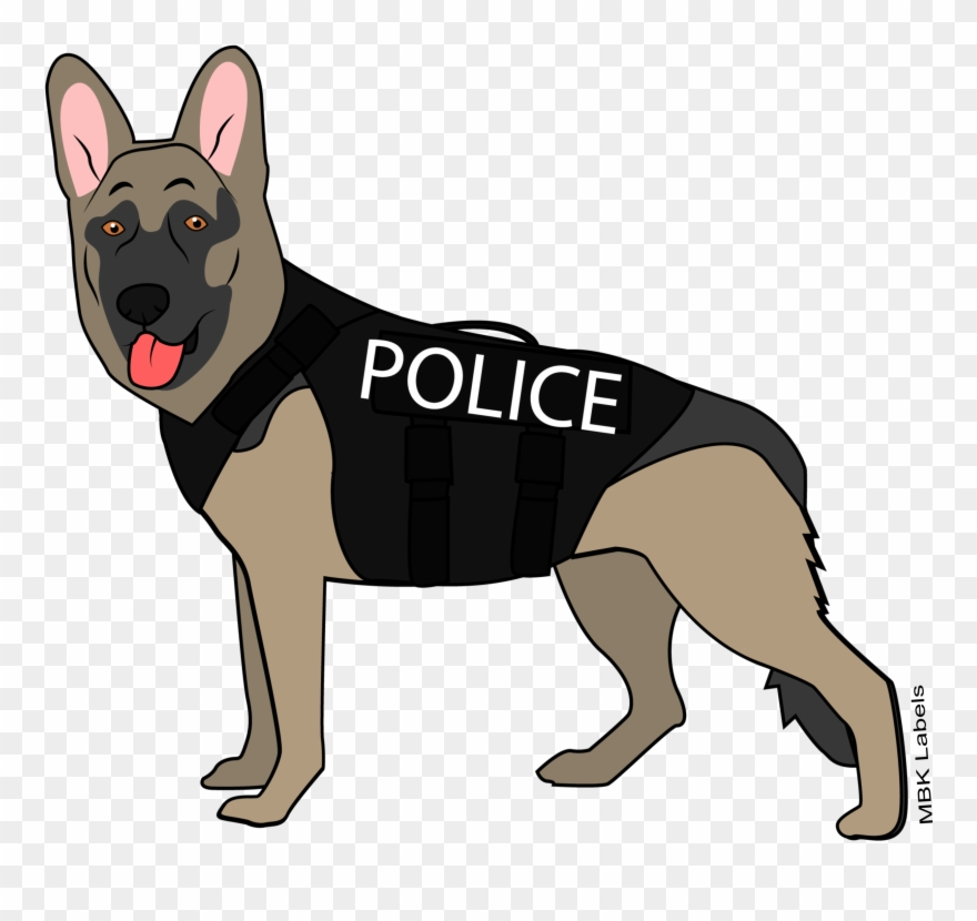 Singing dog clipart clip download K9 Police Dog - Old German Shepherd Dog Clipart (#3766641) - PinClipart clip download