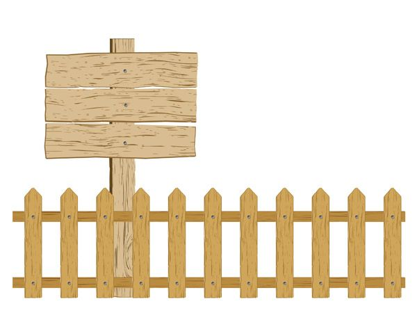 Barn and fence clipart graphic free vector Cartoon clip art fence | Farm ideas | Vector free, Farm ... graphic