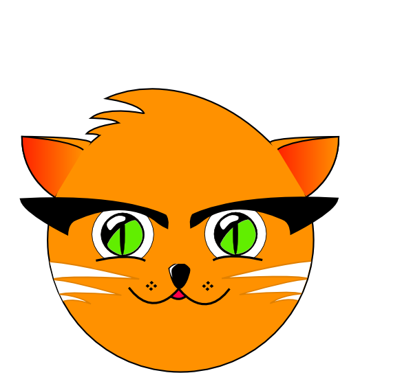 Barn cat clipart svg transparent stock Cat 33 Clip Art at Clker.com - vector clip art online, royalty free ... svg transparent stock