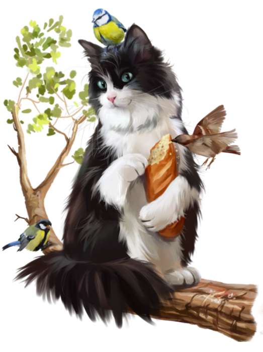 Maine coon cat clipart free library Lunch4 (523x700, 399Kb) | Cat 3D Tubes 1 | Pinterest | Cat and ... free library