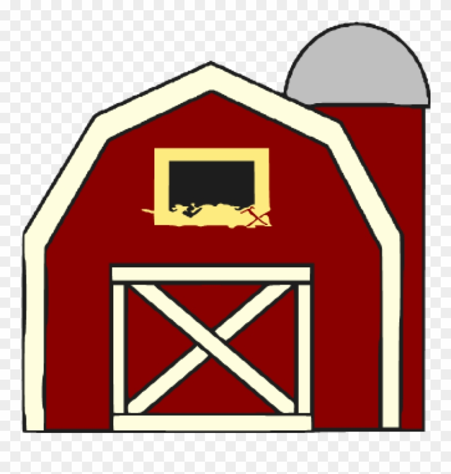 Barn Clipart Free Barn Clipart At Getdrawings Free - Red Barn Door ... image download