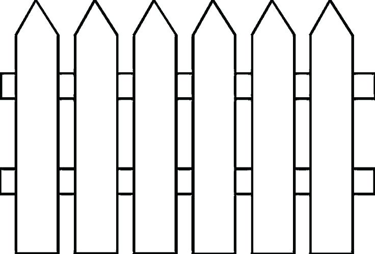 Barn fence clipart free png royalty free library Wooden Fence Cliparts   Free download best Wooden Fence Cliparts on ... png royalty free library