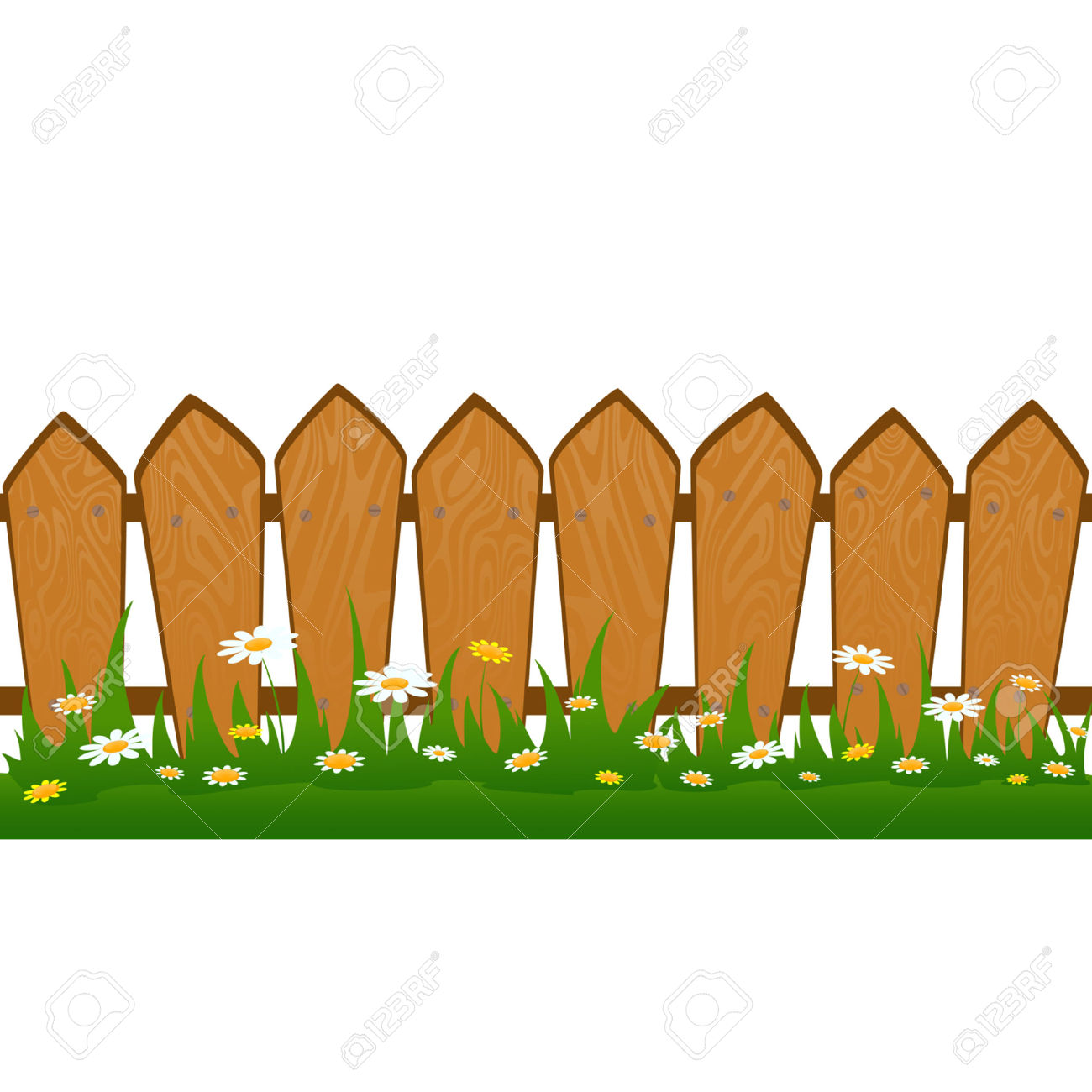 Barn fence clipart free picture black and white stock Wooden Fence Cliparts   Free download best Wooden Fence Cliparts on ... picture black and white stock