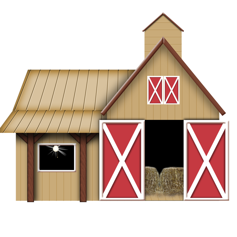 Farm house clipart image black and white library La Galetie | Pinterest | Barn, Farming and Clip art image black and white library