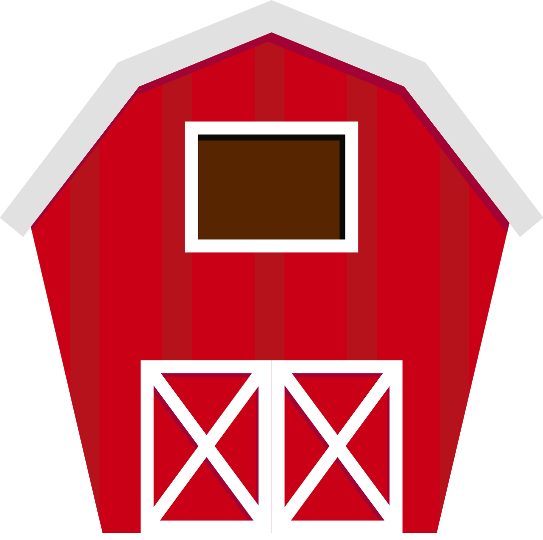 Rural house clipart graphic royalty free Fazenda - farm BARN.png - Minus | clipart- farm | Pinterest | Cricut ... graphic royalty free