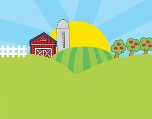 Barn on hill clipart graphic transparent download Farm+Clip+Art | Farm Clip Art Images Farm Stock Photos Clipart Farm ... graphic transparent download