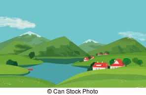 Barn on hill clipart royalty free Barn on hill scene Vector Clip Art Royalty Free. 151 Barn on hill ... royalty free