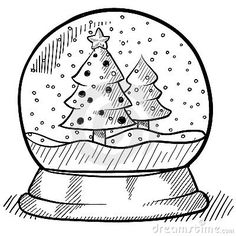 Barn snow globes clipart steps to draw clipart stock 13 Best Snow Globes images in 2013 | Snow globes, Snow, Drawings clipart stock