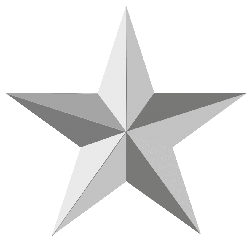 Clipart army silver star banner royalty free silver star png - Free PNG Images | TOPpng banner royalty free