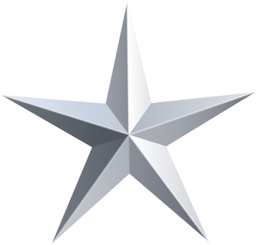 Star bar clipart vector library download silver star png - Free PNG Images | TOPpng vector library download