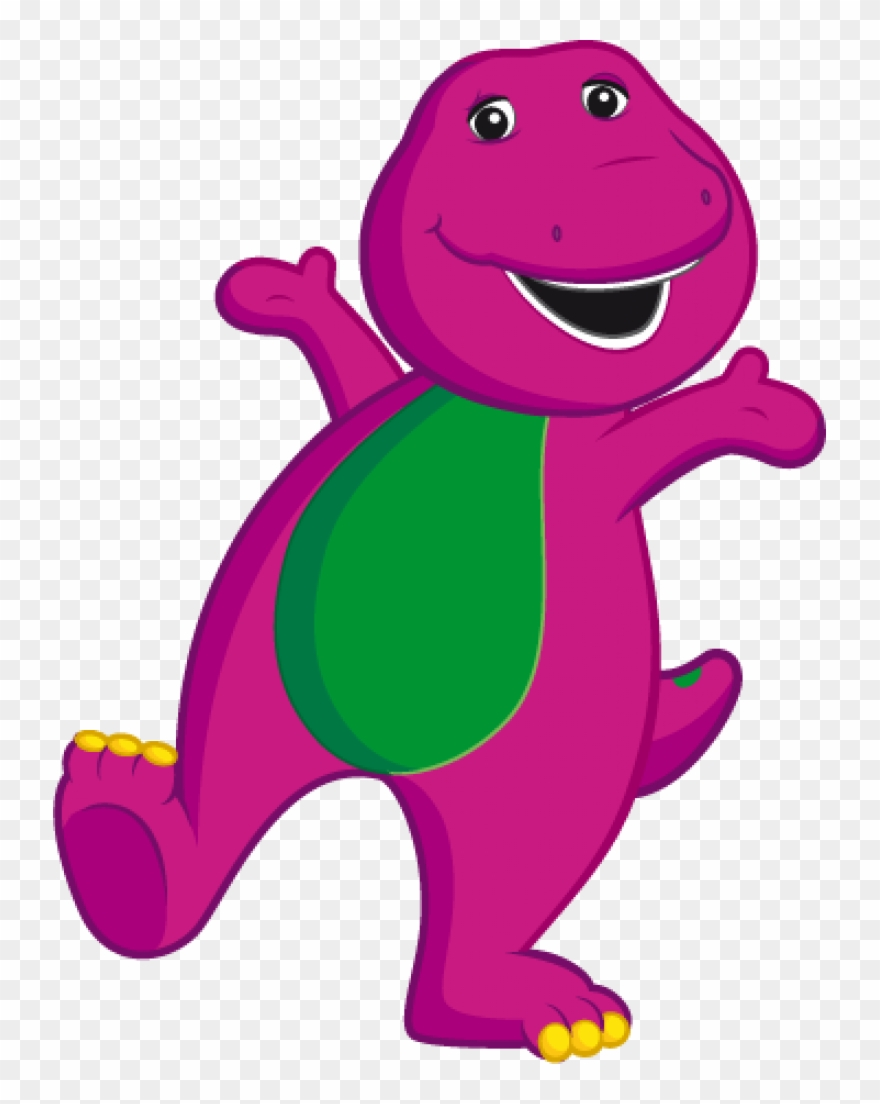 Barney and friends clipart