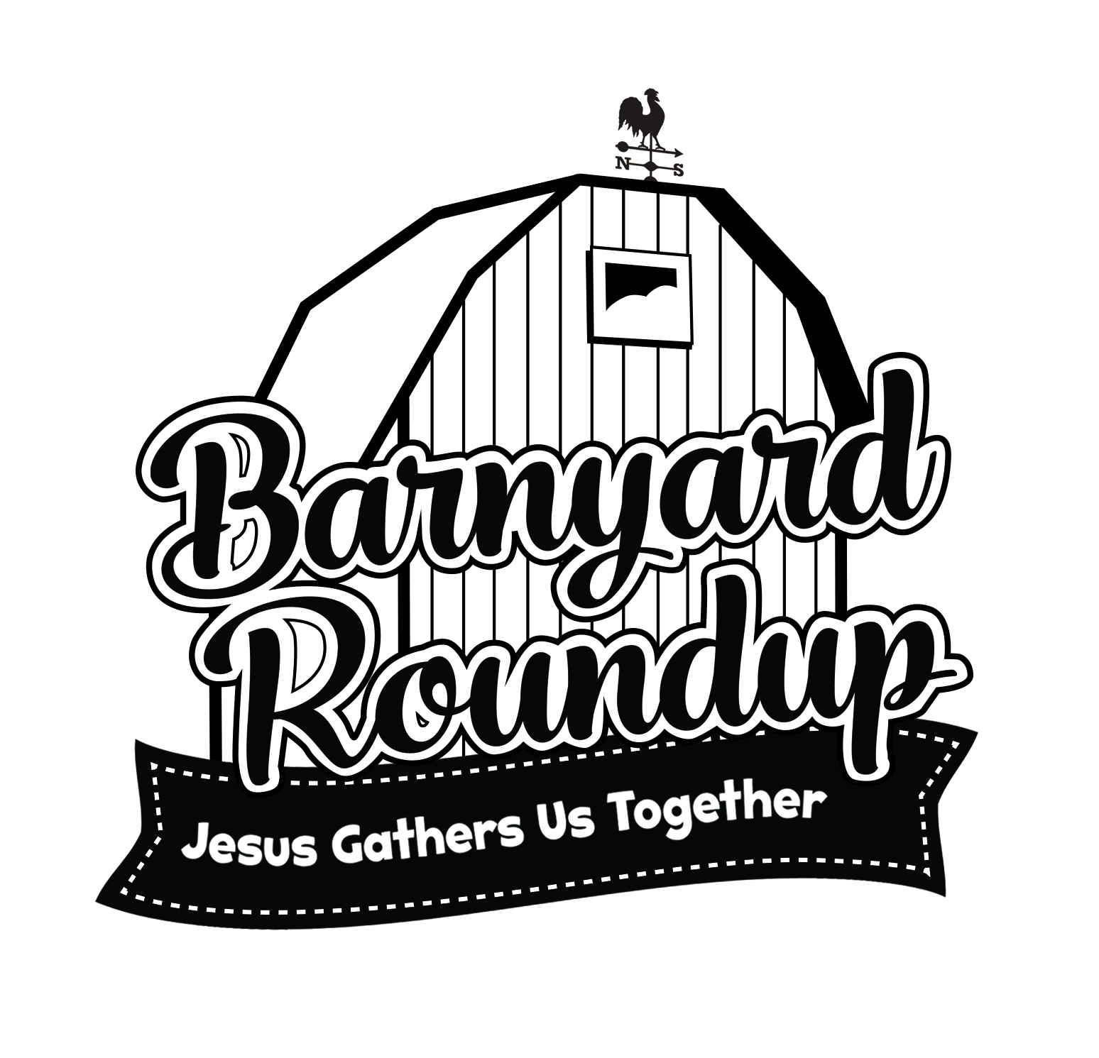 Barnyard roundup vbs clipart picture black and white stock CPH VBS | Vacation Bible School 2016 - Barnyard Roundup - Downloads picture black and white stock