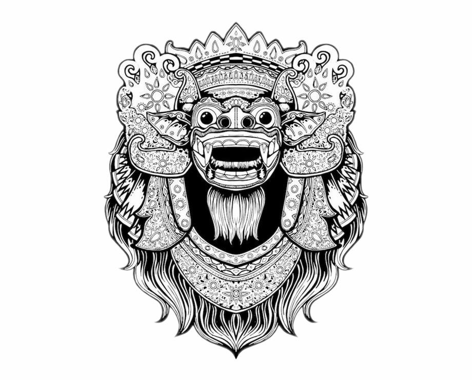 Barong bali clipart clipart freeuse stock Leak Bali Png - Barong Bali Drawing Free PNG Images & Clipart ... clipart freeuse stock