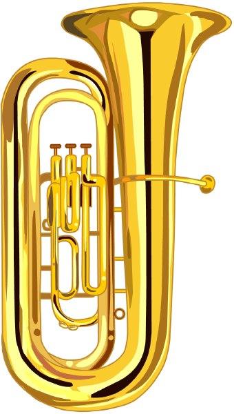 Tuba clipart free transparent Baritone Cliparts - Cliparts Zone transparent