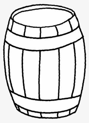 Barrel clipart black and white svg Black And White PNG, Transparent Black And White PNG Image Free ... svg
