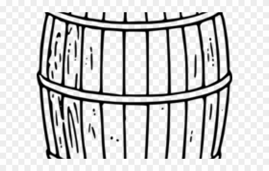 Barrel clipart black and white graphic royalty free download Barrel Clipart Beer Barrel - Keg Clip Art Black And White - Png ... graphic royalty free download