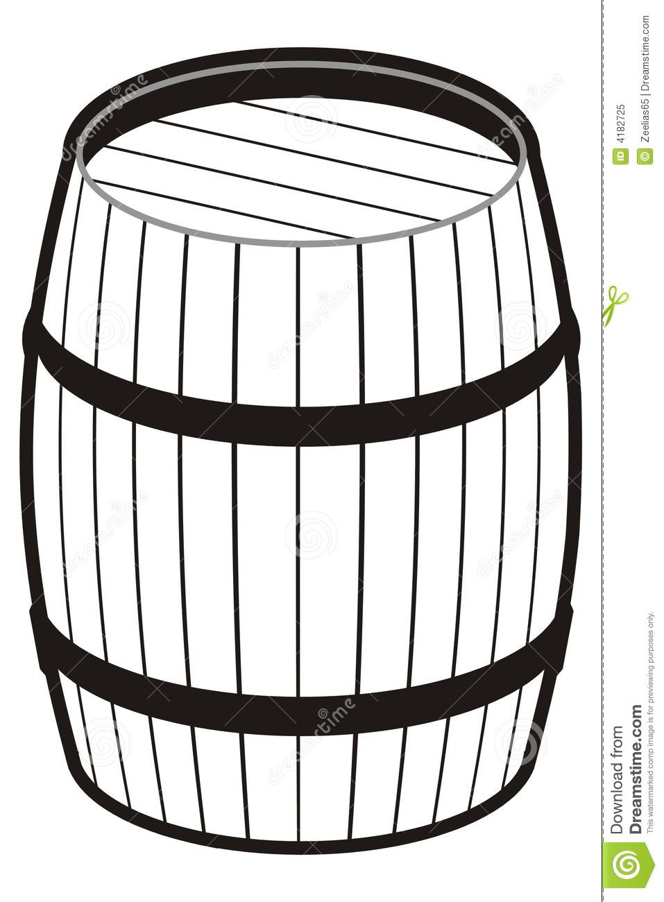 Barrel clipart black and white vector black and white Barrel Clipart | Free download best Barrel Clipart on ClipArtMag.com vector black and white