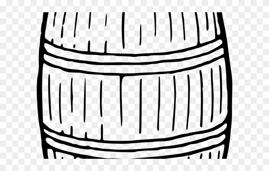 Barrel clipart black and white free download Barrel Clipart Bourbon Barrel - Kegclipart Black And White - Png ... free download