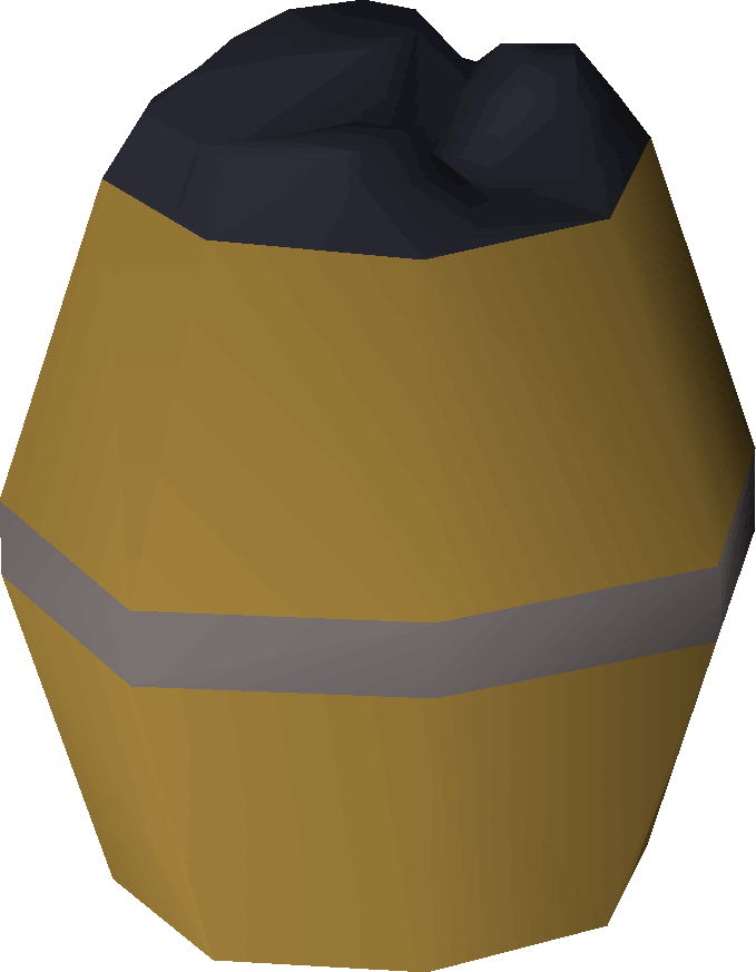 Barrel of money clipart black and white Barrel of coal-tar   Old School RuneScape Wiki   FANDOM powered by Wikia black and white