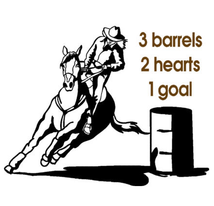 Barrel racing quotes clipart image free Horse-Horse decal-Barrel racer horse-Horse quote sticker-Horse wall ... image free