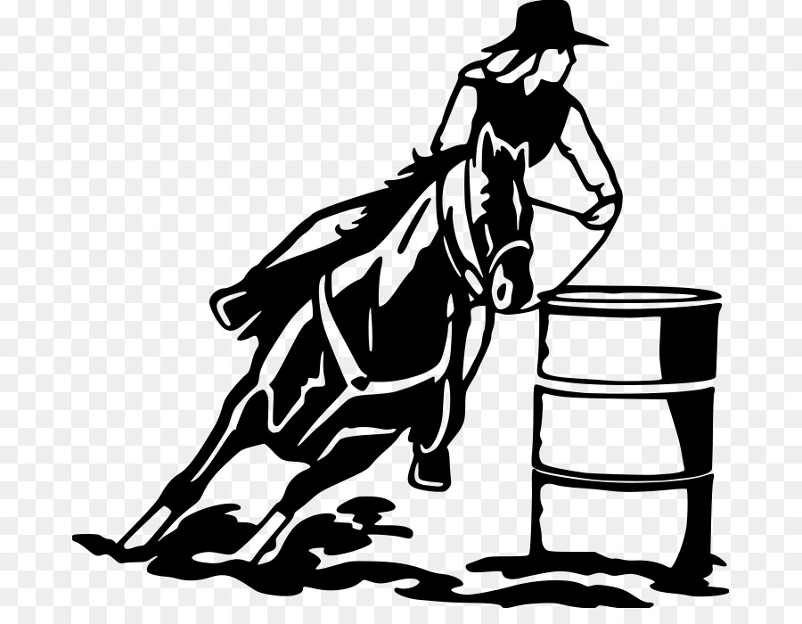 Barrel racing quotes clipart download Book Black And White png download - 737*682 - Free Transparent Horse ... download