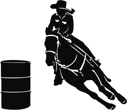 Barrel racing silhouette clipart banner stock Free Barrel Horse Cliparts, Download Free Clip Art, Free Clip Art on ... banner stock