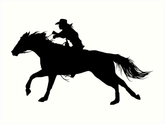 Barrel racing silhouette clipart clip black and white stock Horse Cartoon clipart - Horse, Silhouette, Rodeo, transparent clip art clip black and white stock