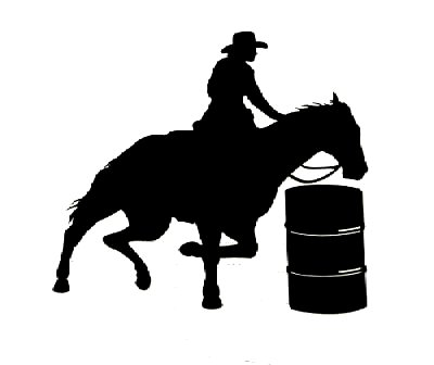 Barrel racing silhouette clipart clipart free Barrel Racing Cliparts - Cliparts Zone clipart free