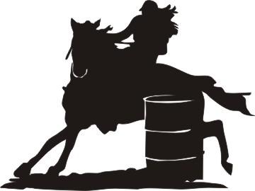 Barrel racing silhouette clipart clip art free stock Free Barrel Racing Silhouette, Download Free Clip Art, Free Clip Art ... clip art free stock