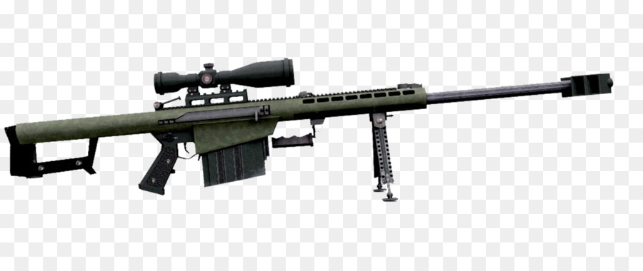 Barrett m82 clipart transparent library Download Free png Barrett M82 Assault rifle .50 BMG Weapon US M82A1 ... transparent library