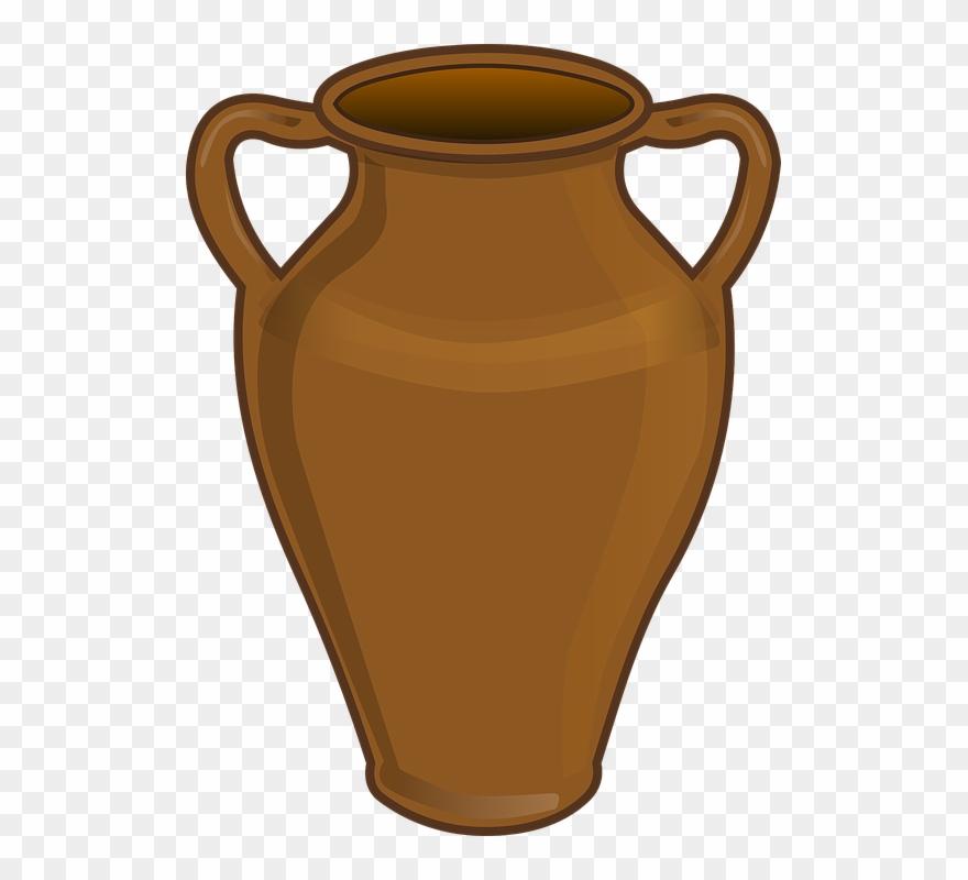 Barro clipart graphic library stock Jar Clipart Water Jar - Vaso De Barro Desenho - Png Download ... graphic library stock