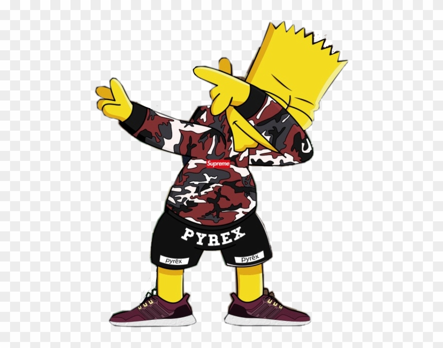 Bart simpson supreme clipart svg free library Gambar Supreme Simpson - Bart Simpson Supreme Clipart (#1905937 ... svg free library