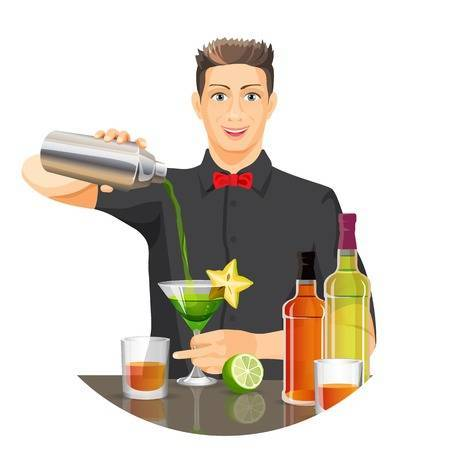 Bartender clipart images clip black and white download Bartender clipart » Clipart Portal clip black and white download