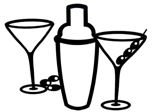 Bartender shaker clipart