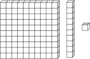 Base ten cube clipart free base 10 blocks clipart black and white - Recherche Google ... free