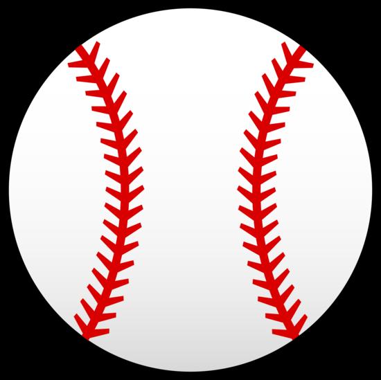 Basebaell clipart png black and white download Little League Baseball Clip Art | Red Baseball Laces Clip Art Vector ... png black and white download