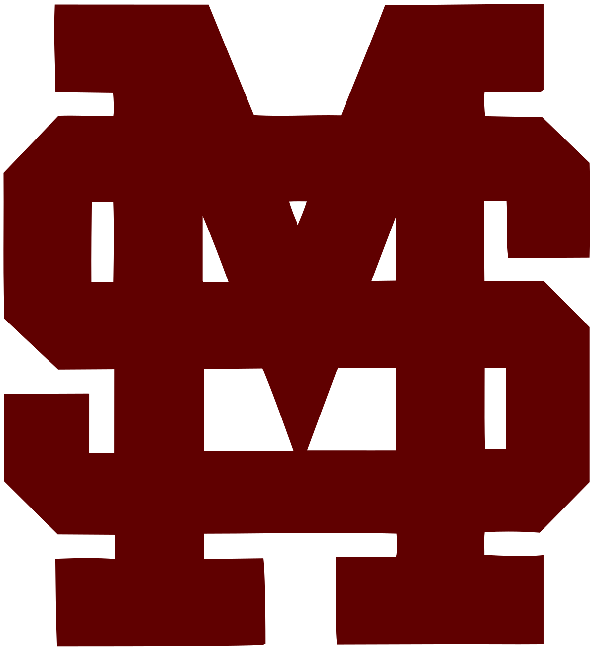 Baseball team swoop clipart png black and white Mississippi State Bulldogs baseball - Wikipedia png black and white