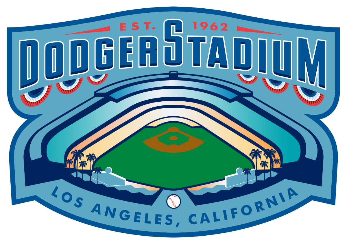 Dodger wikipedia . Baseball stadium advertising clipart