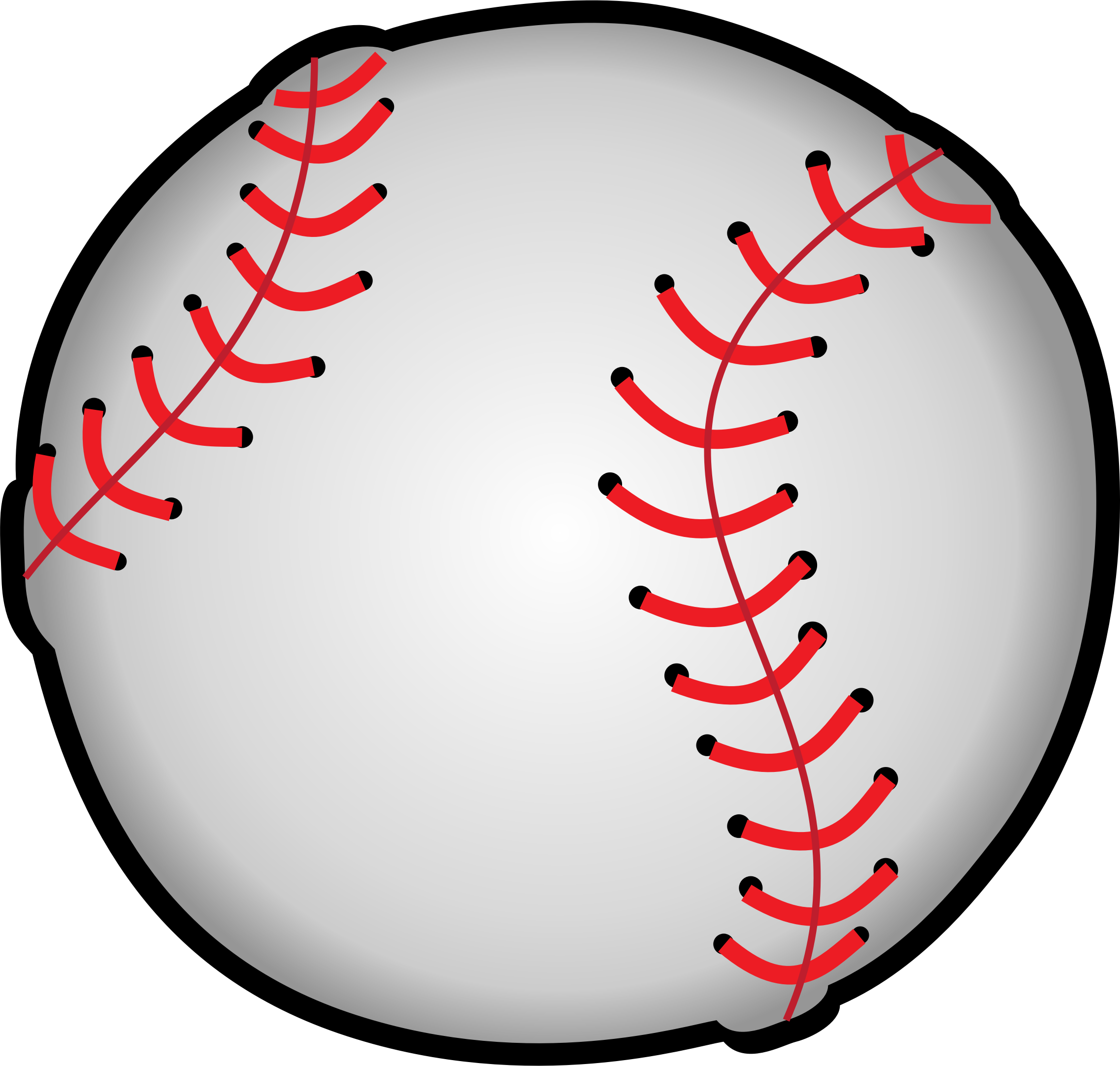 Baseball with bow clipart svg transparent download Clipart - Baseball svg transparent download