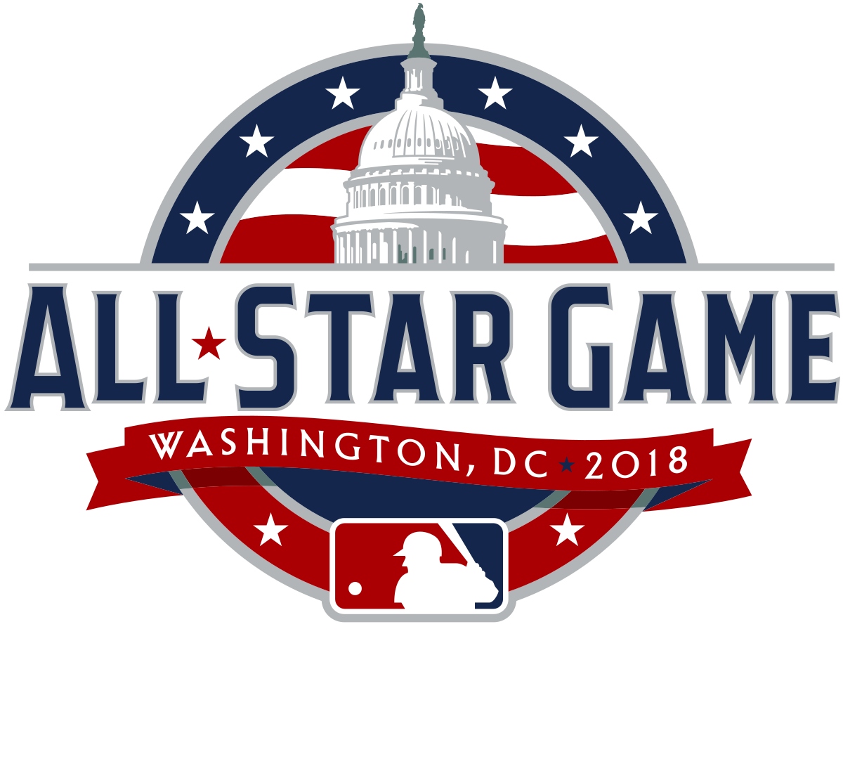 Baseball allstar clipart png graphic library library All Star Game Logo 2018 PNG Image - PurePNG | Free transparent CC0 ... graphic library library