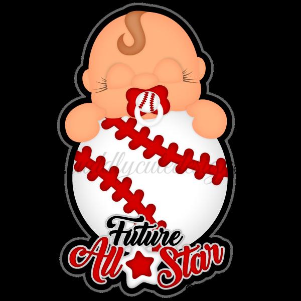 Baseball allstar clipart png svg download Sports svg download