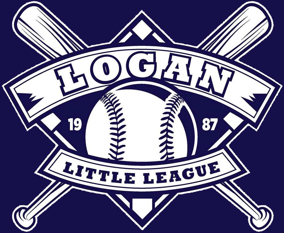 Little league baseball clipart banner royalty free library Logan Little League banner royalty free library