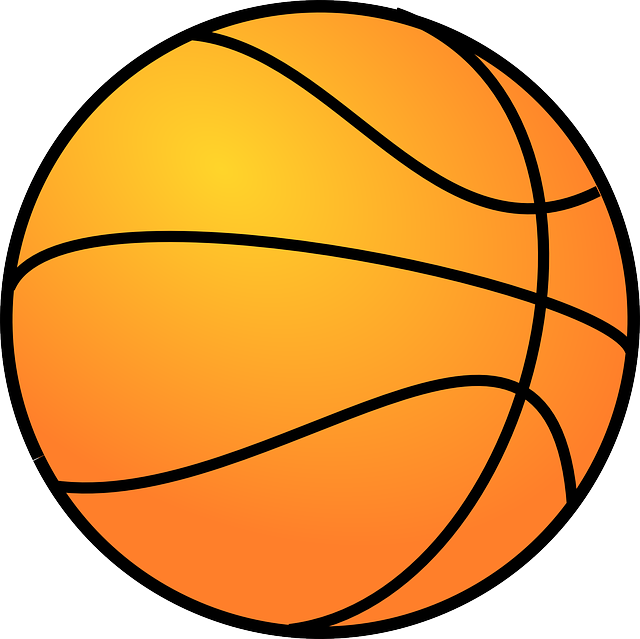 Retro basketball players shooting clipart vector transparent stock Free Image on Pixabay - Basketball, Orange, Round, Game | Pinterest vector transparent stock