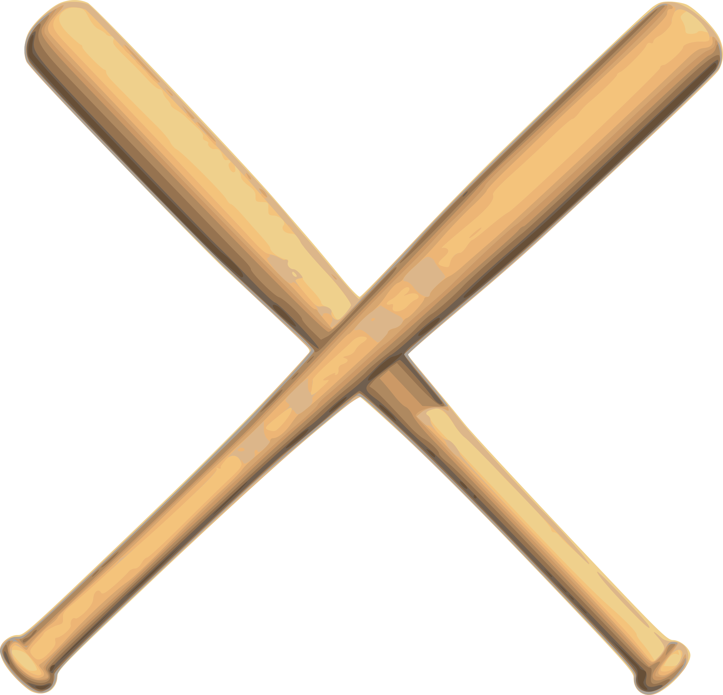 Free baseball clipart borders image free stock Baseball bat baseball crossed bats clipart - Clipartix image free stock