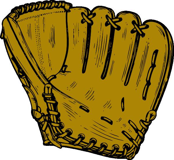 Clipart baseball mitt jpg free Baseball Glove Clip Art at Clker.com - vector clip art online ... jpg free