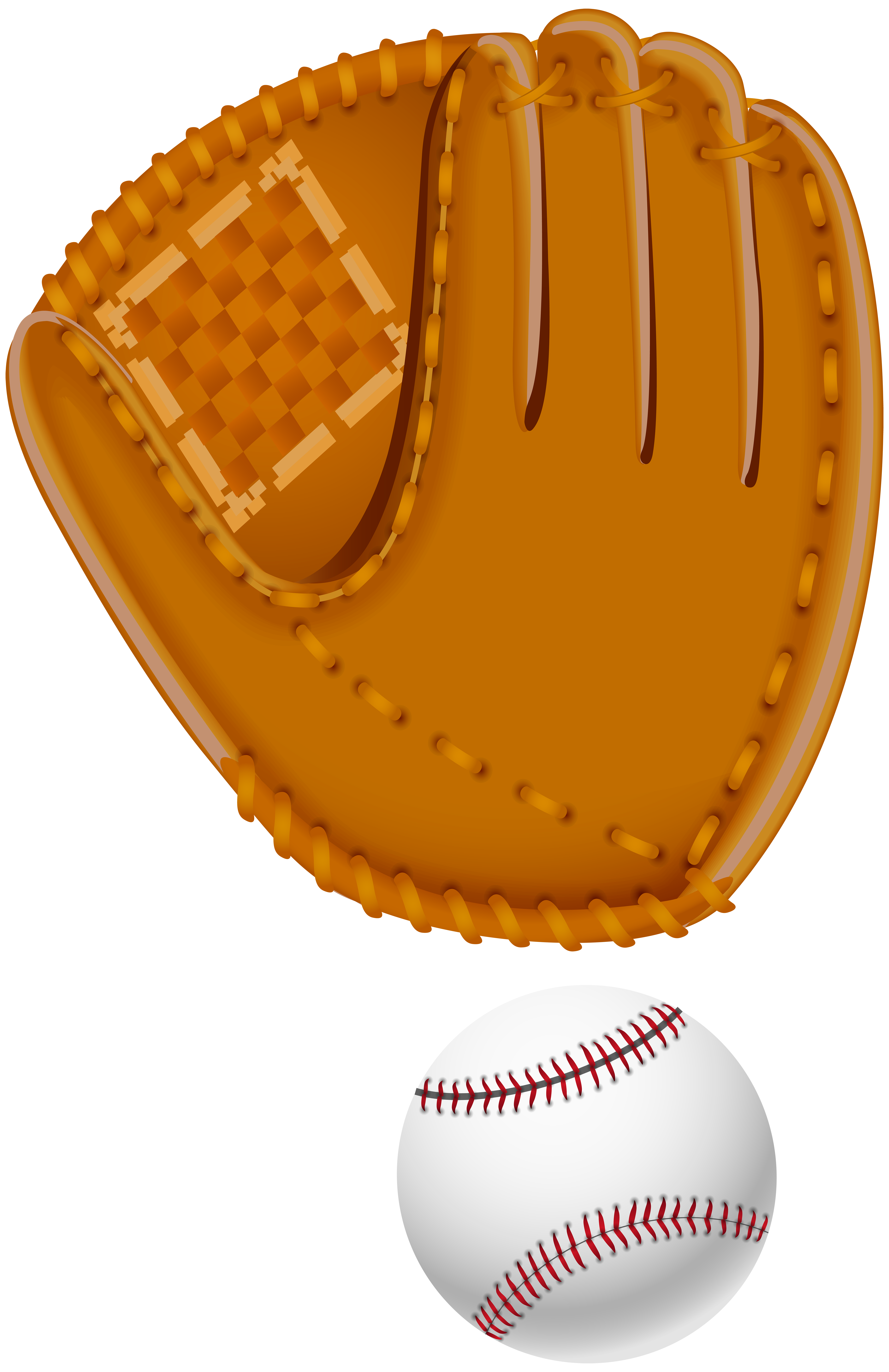 Baseball mitt clipart image black and white Baseball Glove Clip Art Image | Gallery Yopriceville - High-Quality ... image black and white