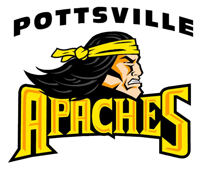 Baseball apaches logo clipart clipart freeuse stock Pottsville - Team Home Pottsville Apaches Sports clipart freeuse stock