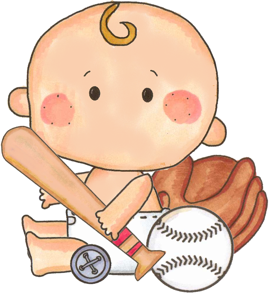 Baseball baby boy clipart vector stock 27 Images of Baseball Baby Shower Clip Art | salopetop.com vector stock