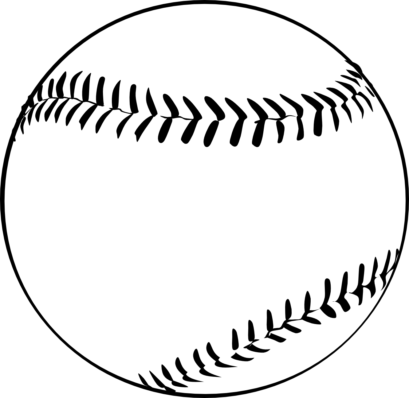 Baseball ball clipart black and white free image freeuse stock Baseball clipart black and white free images 5 - WikiClipArt image freeuse stock