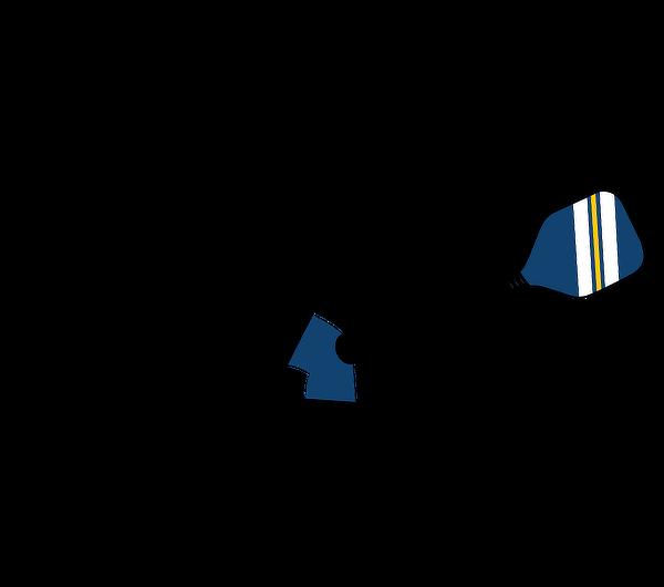 Elk football player clipart. Pickleball silhouette at getdrawings